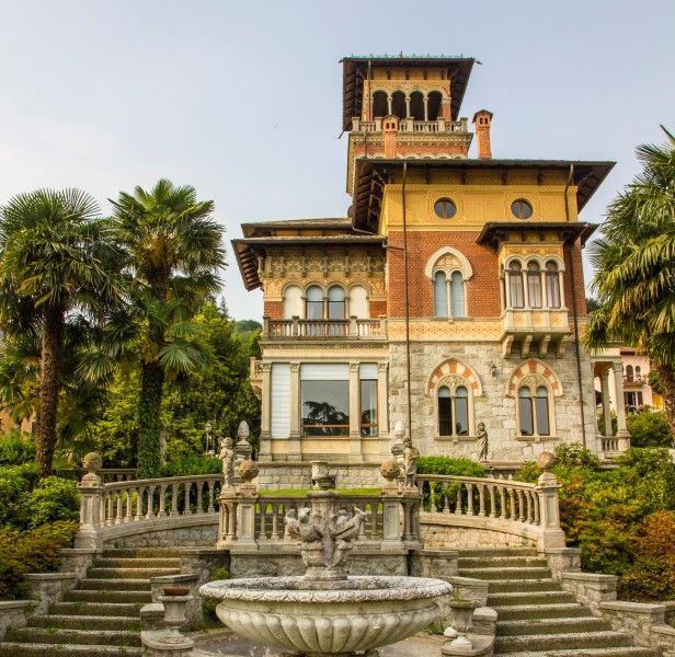 VILLA ITALIANA. Stresa. Lago Maggiore Arquitectura