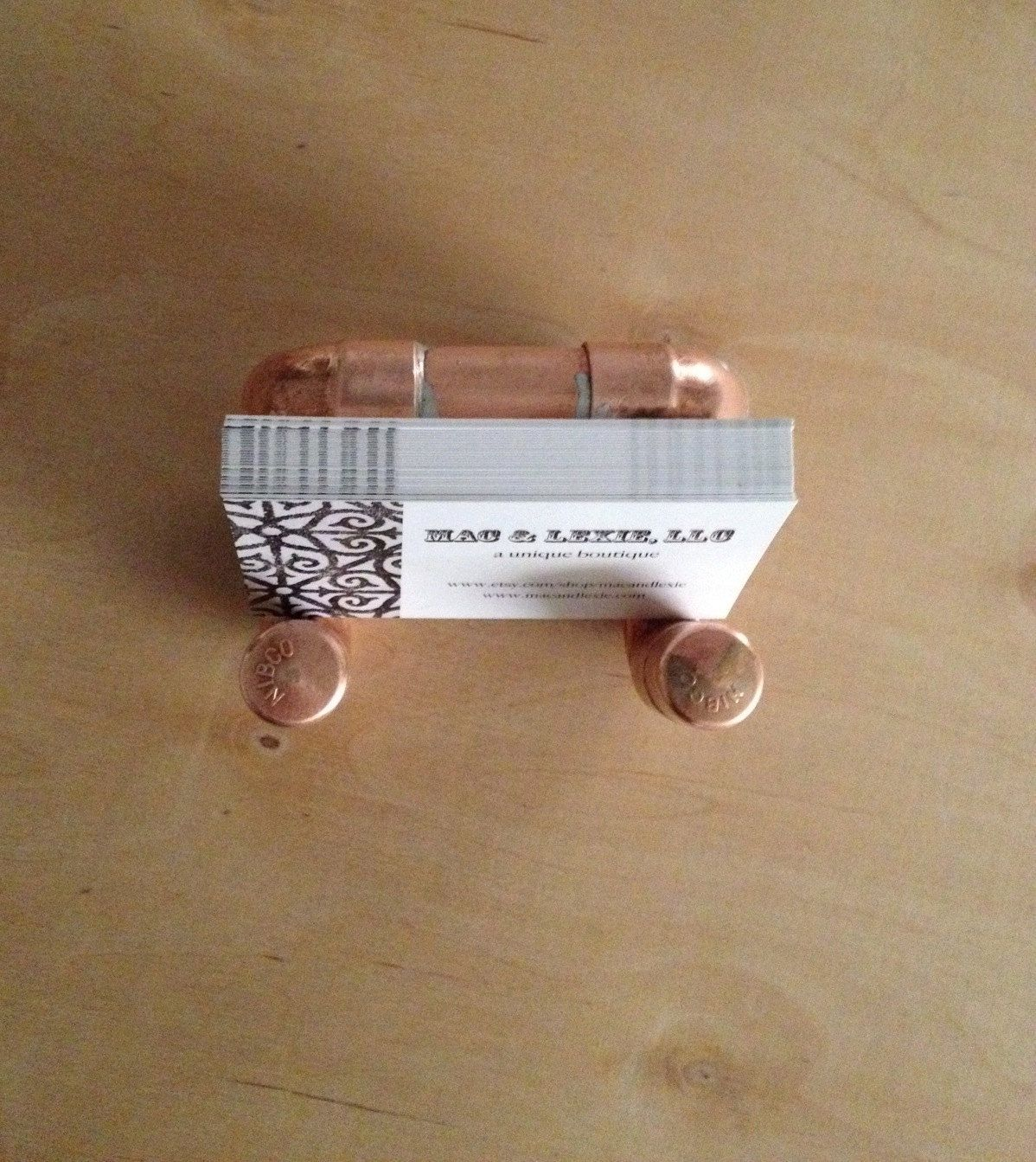Copper Business Card Holder Industrial Design Business Card ...