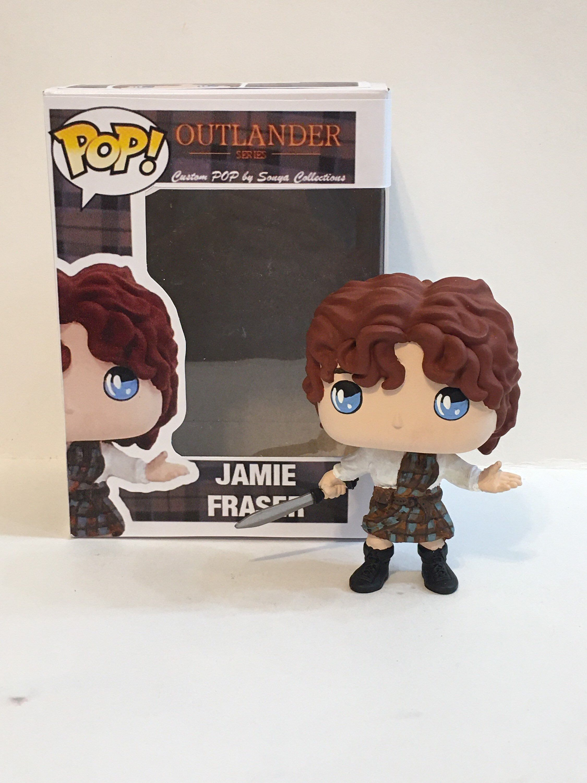 Jamie Fraser With Sword Custom Pop Figure Etsy In 2020 Custom Pop Figures Custom Pop Figures