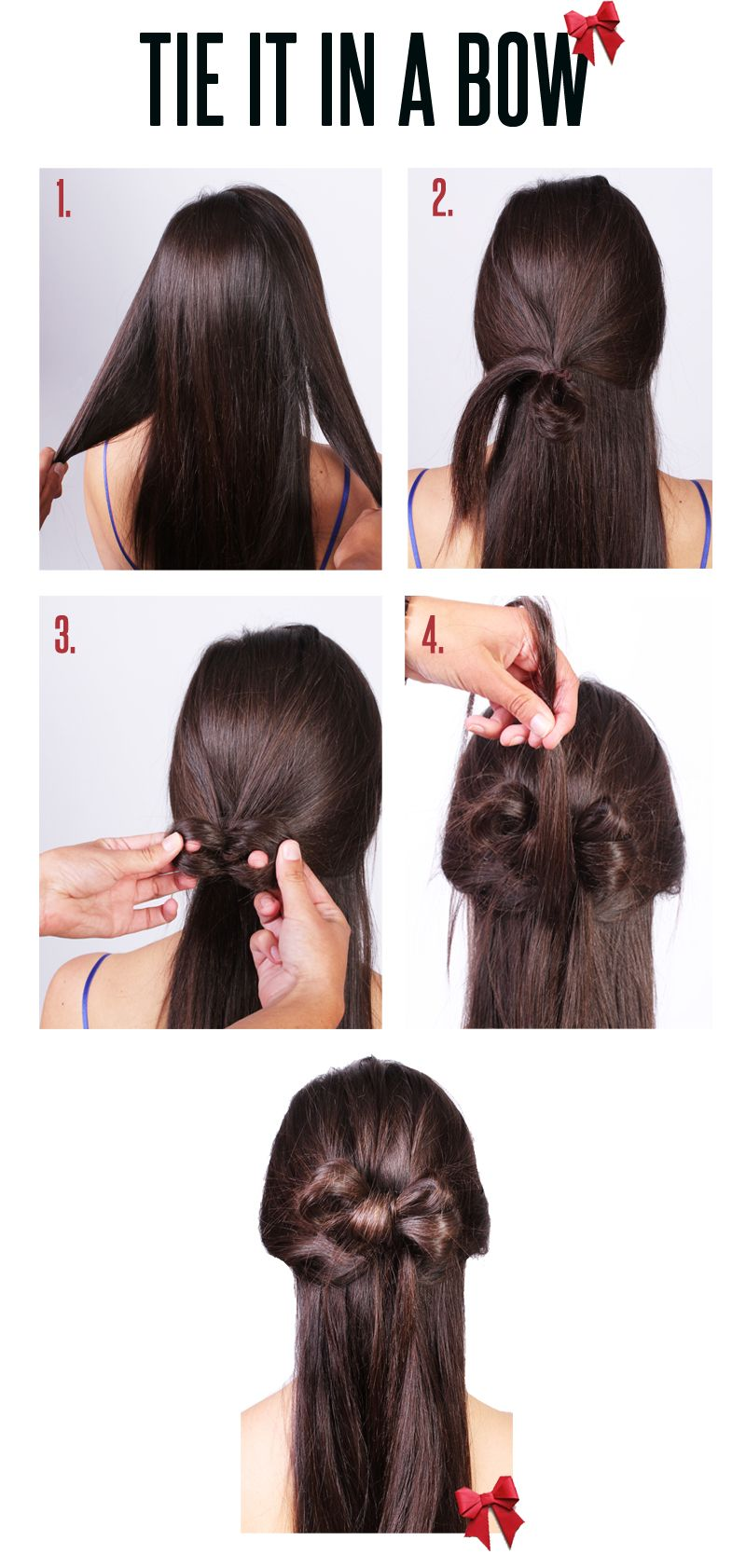 How to tie a hair 15