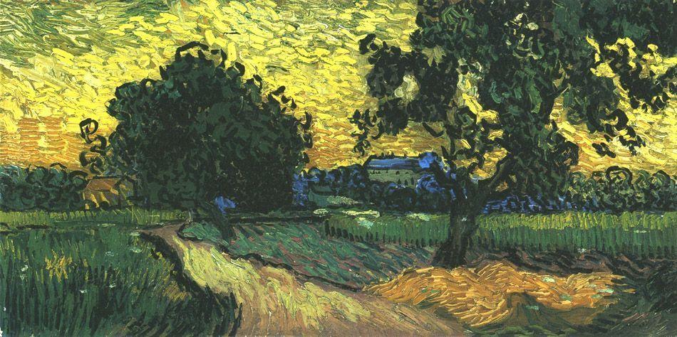 Landscape Paisajes Vincent Van Gogh