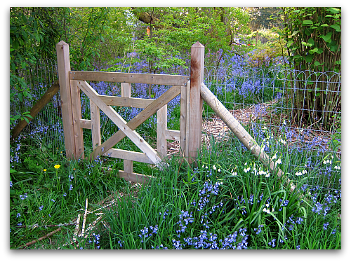 Garden Gate Loop Wire Fence Farm Photos The Week In