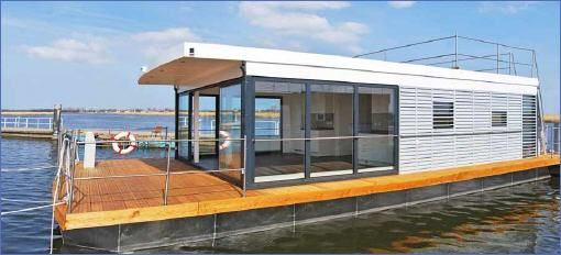 Floating Houses sind schwimmende Ferienhäuser, FLoating 44