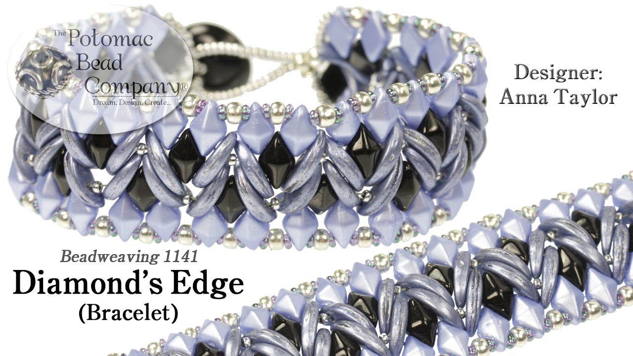 Diamond's Edge Bracelet ~ Seed Bead Tutorials