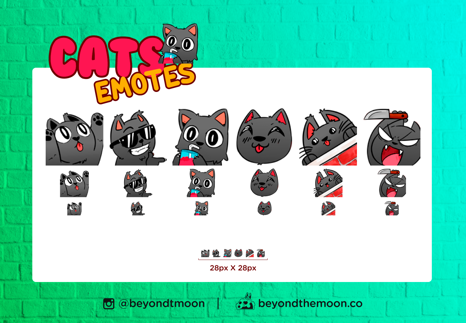 6 Cute Black Cats For Twitch Discord And Youtube Pack 1 In 2020 Cute Black Cats Black Cat Cat Hug