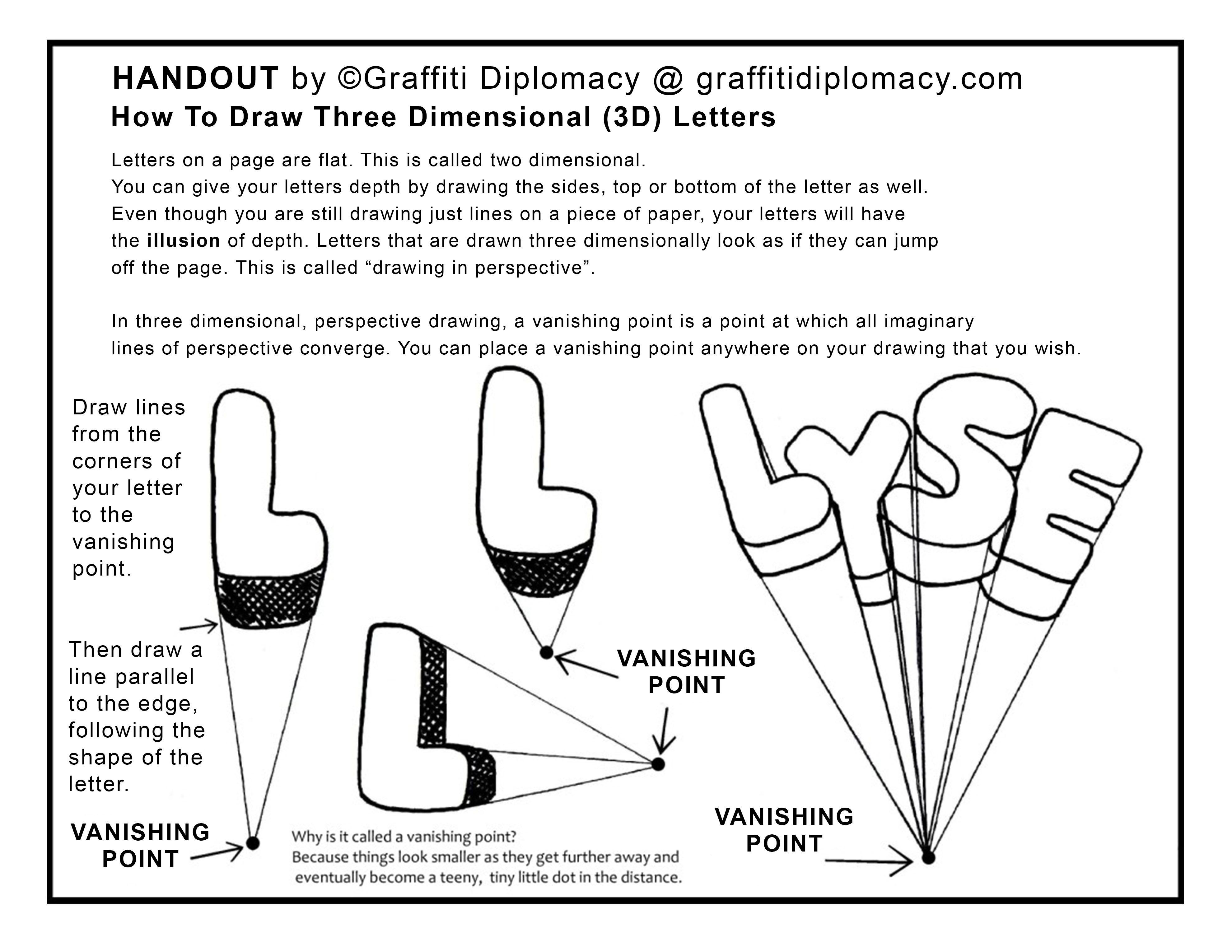 Vanishing Point Lesson By Graffiti Diplomacy 3 960
