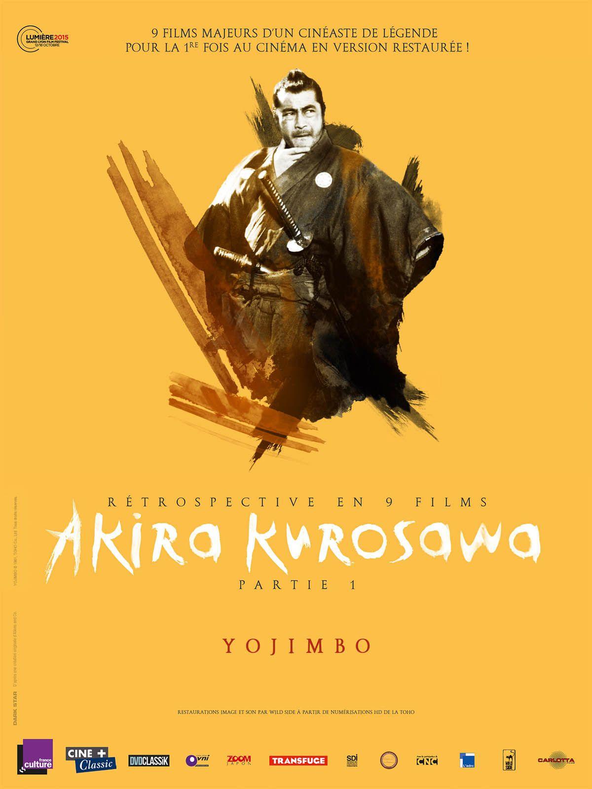 f2017ee678f1c4 Yojimbo - film 1961 - AlloCiné   movie poster   Film, Movie posters ...
