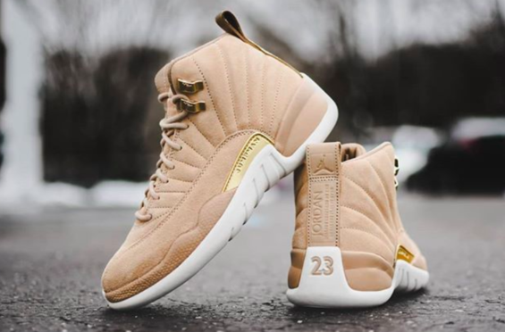 ac33fbea45e Release Reminder  Air Jordan 12 WMNS Vachetta Tan The ladies are getting a  stylish and