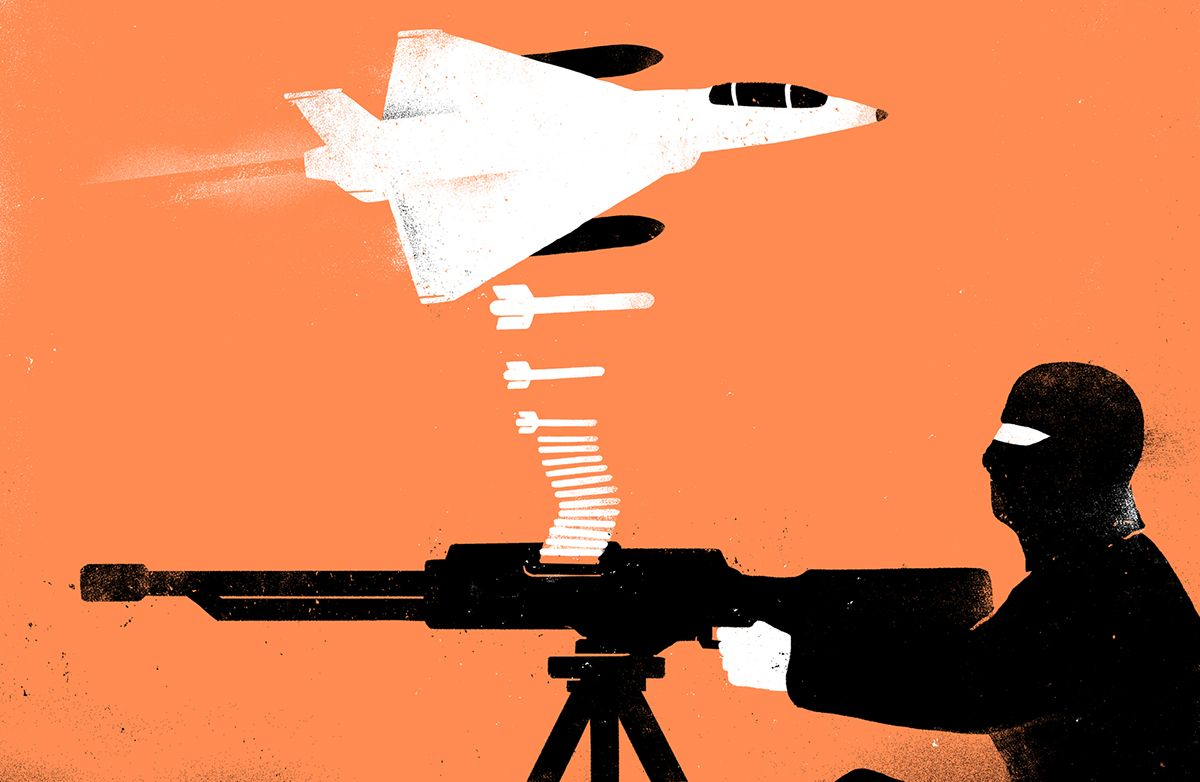 """""""We accept that Russian bombs can provoke a terror backlash. Ours can too"""" by Mehdi Hasan"""