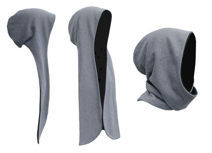 hooded scarf makin you look like the Grim Reaper … | Hoods | …