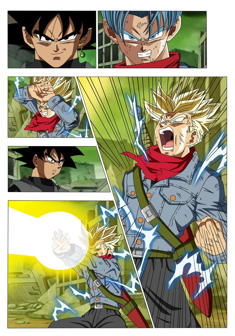 Manga 13 Dragon Ball Super Restoration Finished By Nekoar On