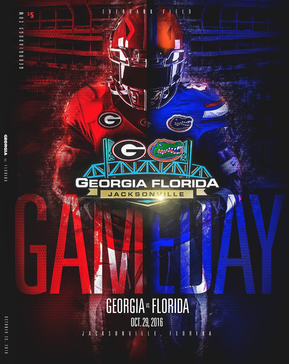 Official 2016 Football Program vs. Florida in