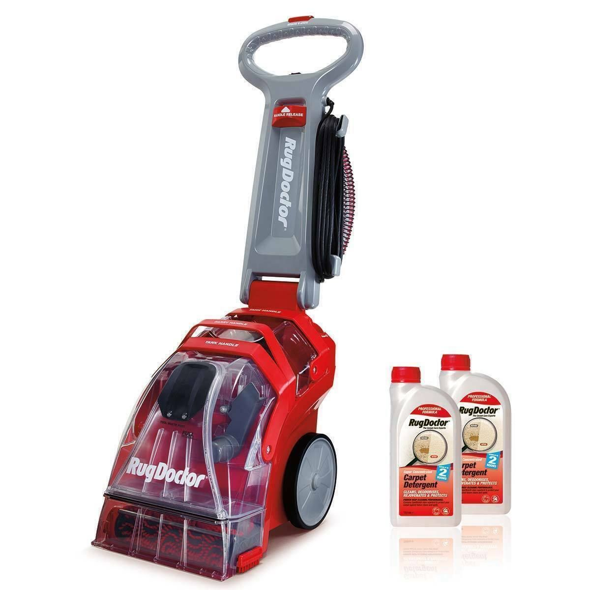 Details About Rug Doctor Deep Carpet Cleaner With 2 X 1l Carpet