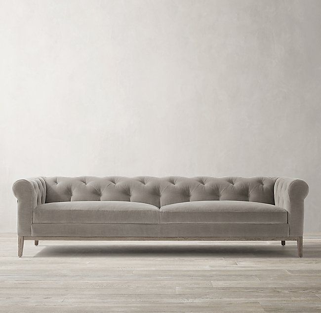 Italia Chesterfield Sofa Oak Base In 2019 Design