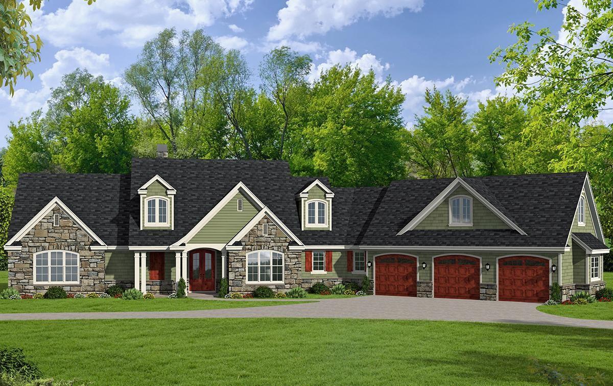 House Plan 94000125 Craftsman Plan 2,950 Square Feet