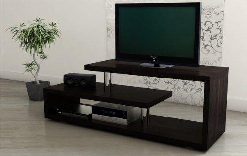 modernes tv lowboard tv bank fernsehtisch regal tv m bel holz wenge 120 moebel. Black Bedroom Furniture Sets. Home Design Ideas