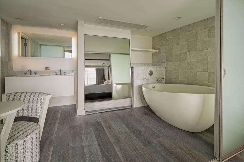 Bathroom Floor Tile Natural Timber Ash Great Indoors