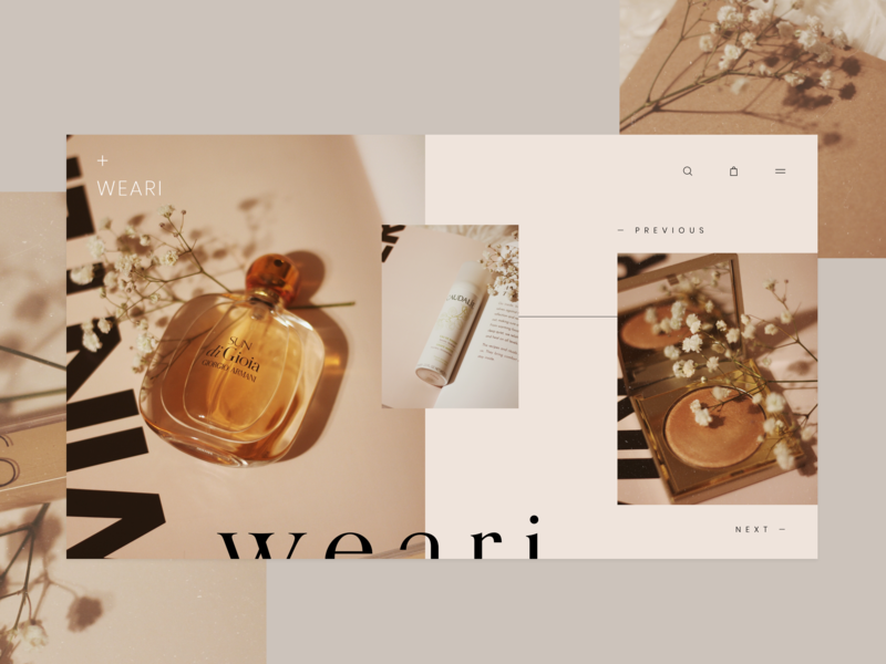 Weari Landing Page In 2020 With Images Web Design Web Design Quotes Web Design Inspiration