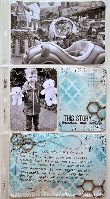 Kristine's lille papirverden: PROJECT LIFE - UKE 18