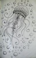 Photo of DeviantArt: Plus comme le tatouage de méduses 2 par rabidunicorn, #DeviantArt #Jellyfis …
