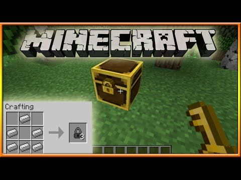 How To Lock A Chest In Minecraft
