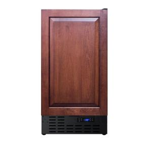 Summit Appliance 18 In 3 Cu Ft Mini Fridge With Panel Ready Door Ff1843bif The Home Depot Upright Freezer Stainless Steel Doors Digital Thermostat