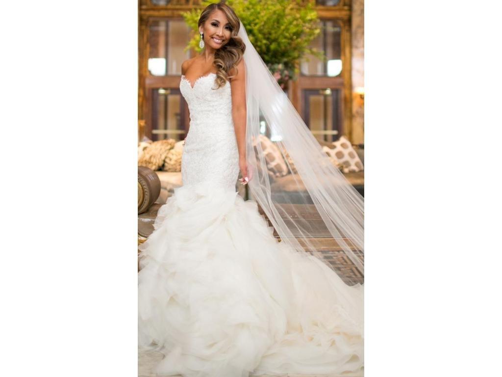 Lazaro 3201 3 500 Size 4 Used Wedding Dresses