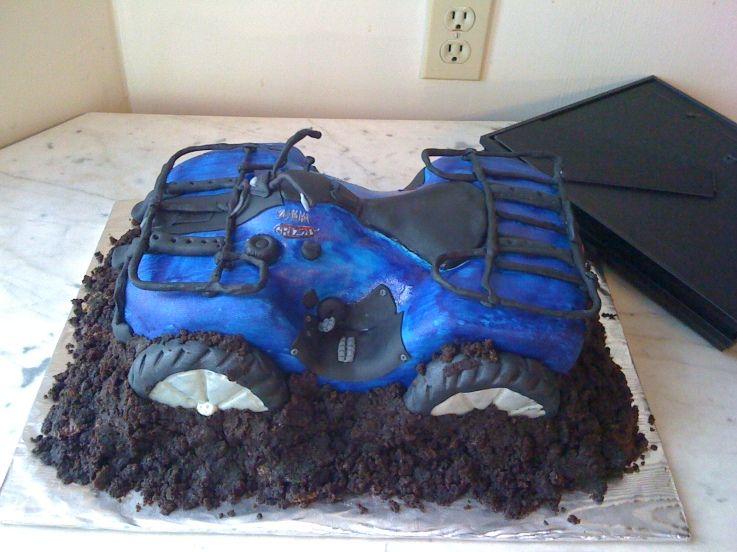 Four Wheeler Cake Design