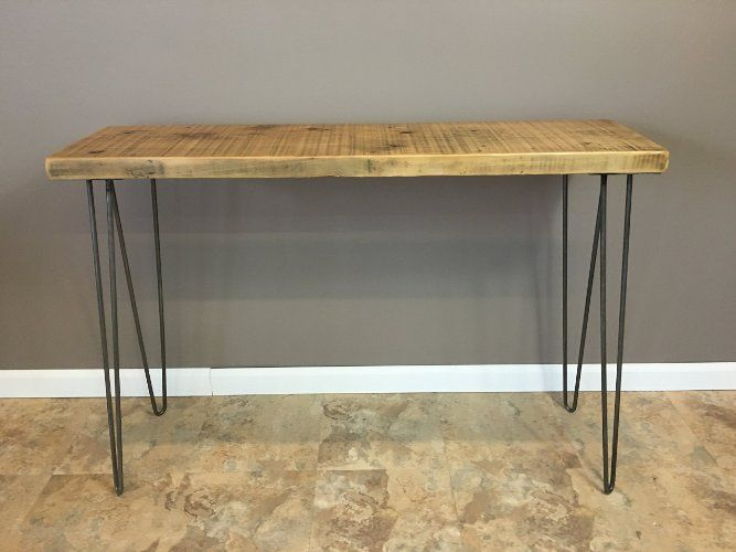 Robot Check Wood Console Table Reclaimed Wood Console Table Wood Console
