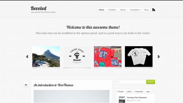 Woothemes Beveled   Wordpress WooThemes   Pinterest   Wordpress