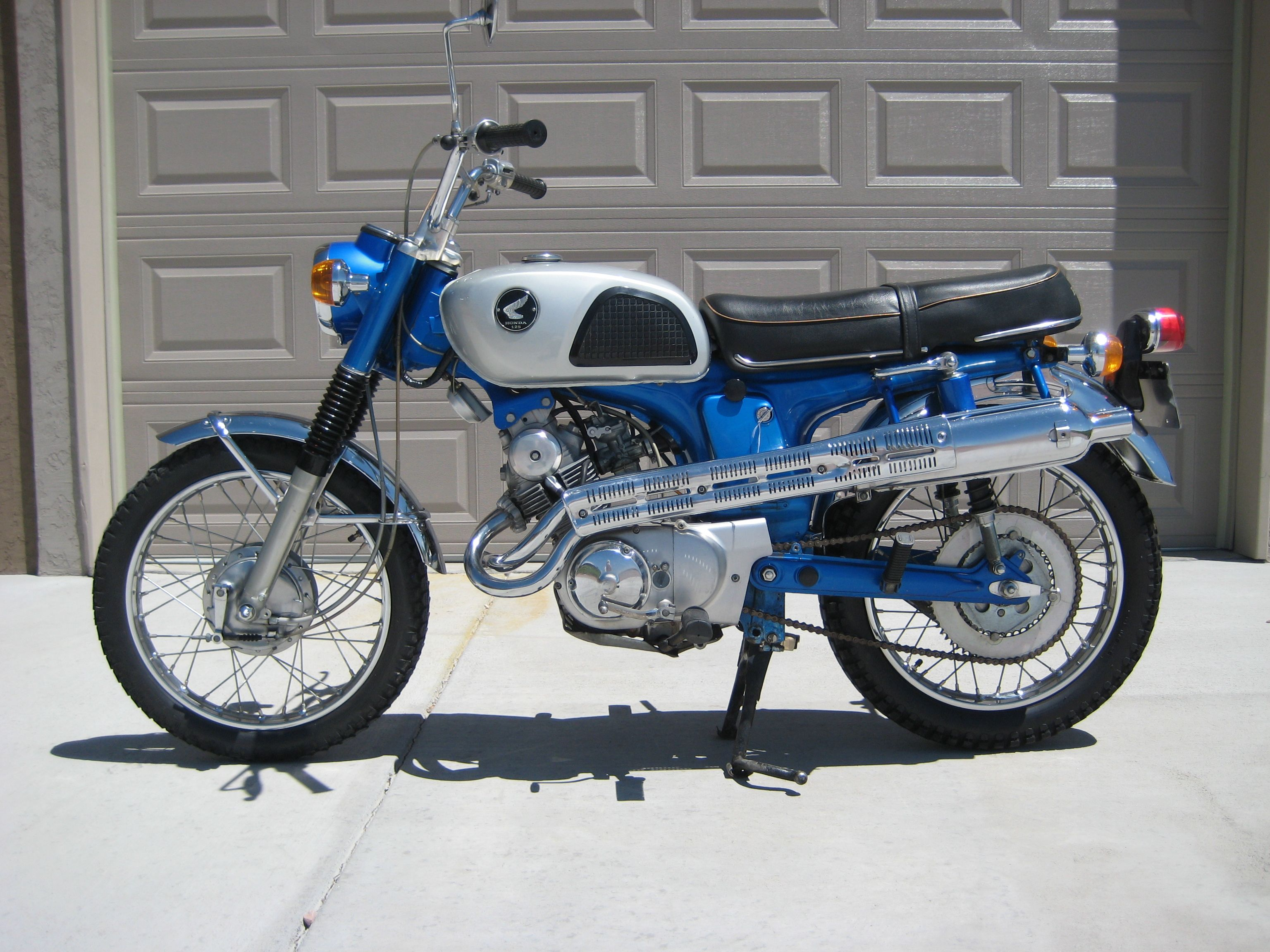 1968 honda cl125a 125cc twin with 4spd transmission. Black Bedroom Furniture Sets. Home Design Ideas