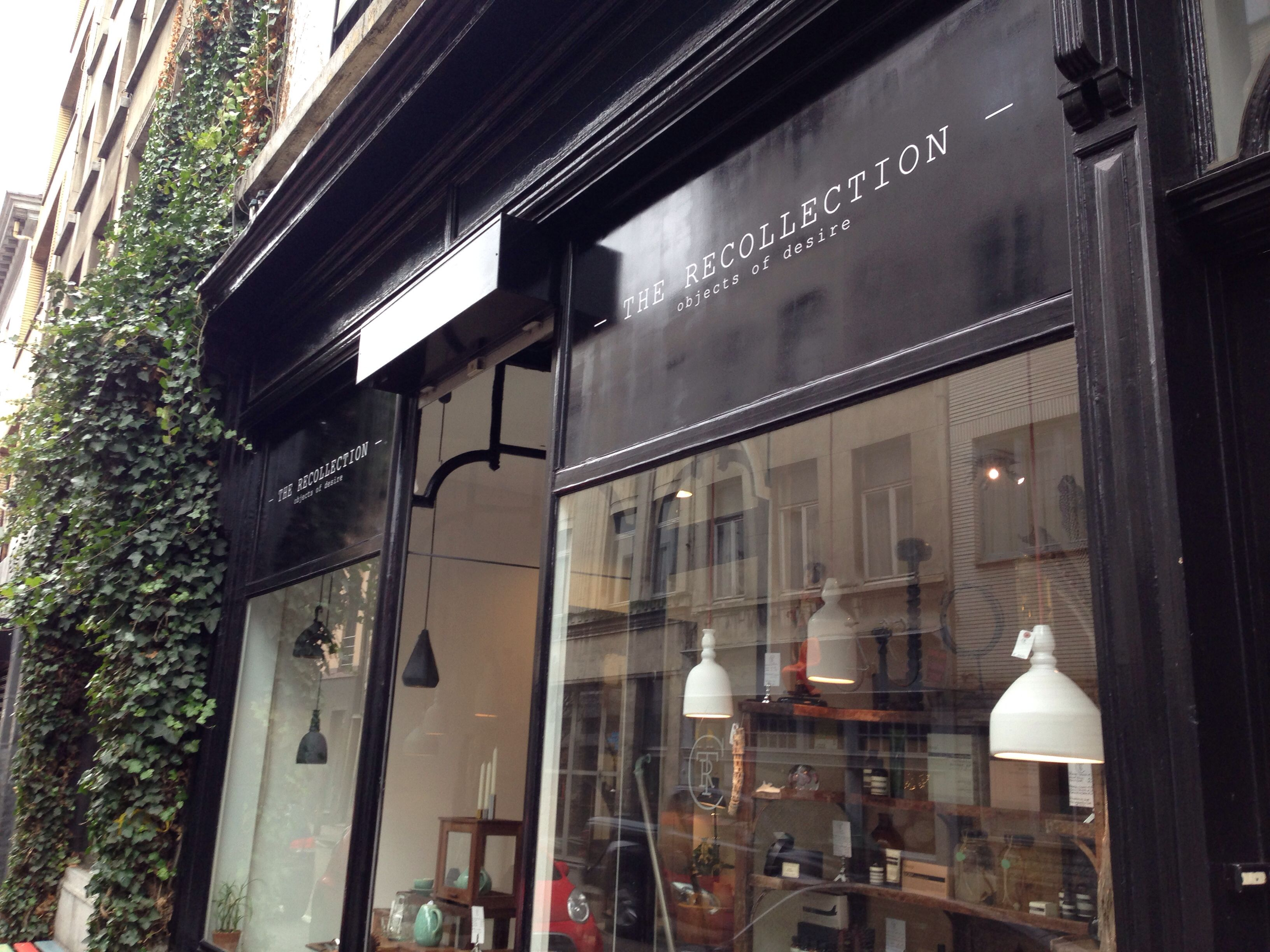 The Recollection Antwerpen Kloosterstraat 54 - concept store voor ...