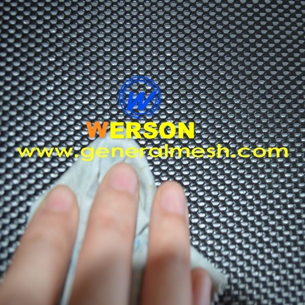 Powder Coated One Way Security Door Mesh Aluminum One Way Look Out Mesh Dva Thickness 0 5 Mm Hebei Genera Mesh Screen Aluminum Screen Security Screen