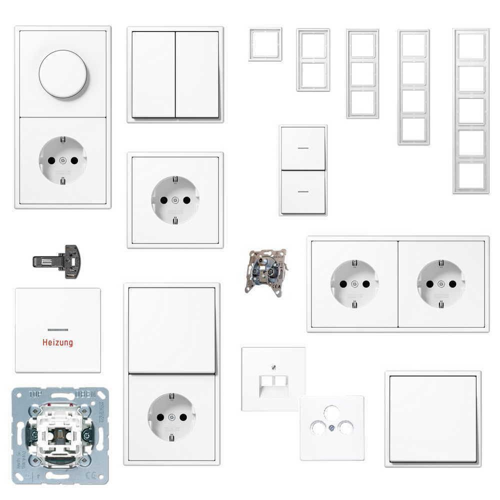 Jung Serie Ls Rahmen Ls990 Alpinweiss Schaltermaterial Steckdosen Schalter Rahmen Ebay Lichtschalter Schalter Und Steckdosen Schalter