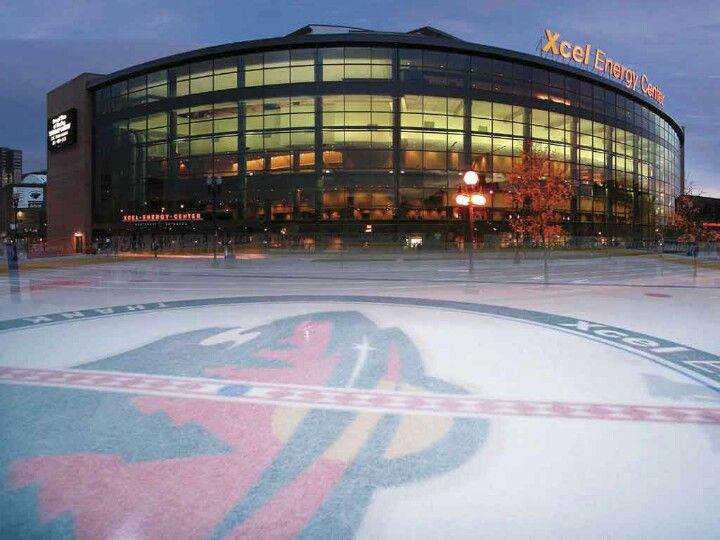 Excel Energy Center St Paul Mn Minnesota Wild Minnesota Wild