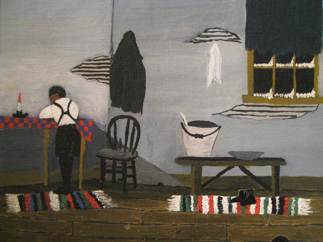 Horace Pippin S Interior Evokes Basic Comforts Of Home Harlem