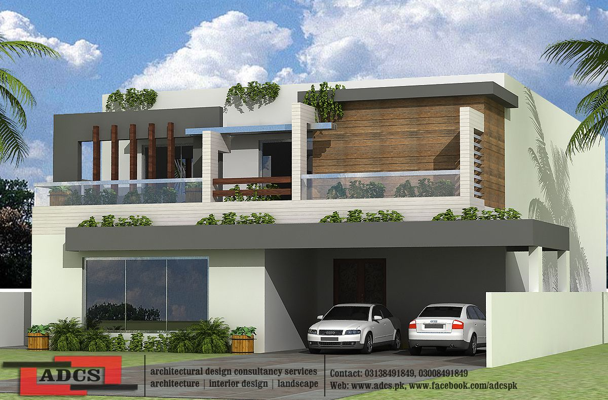 1 Kanal House Design (Modern)