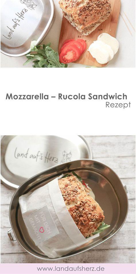 Mozzarella – Rucola Sandwich + Free Printable