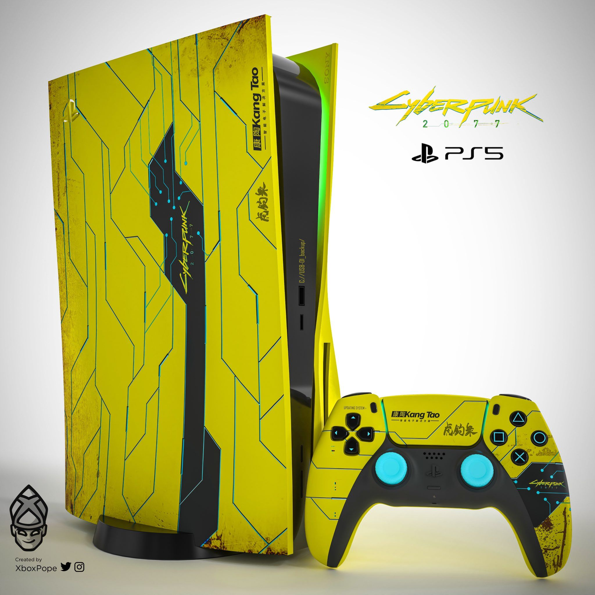 28 Xbox Series X And Ps5 Skins That Are A Bit Much Cyberpunk 2077 Playstation 5 Playstation