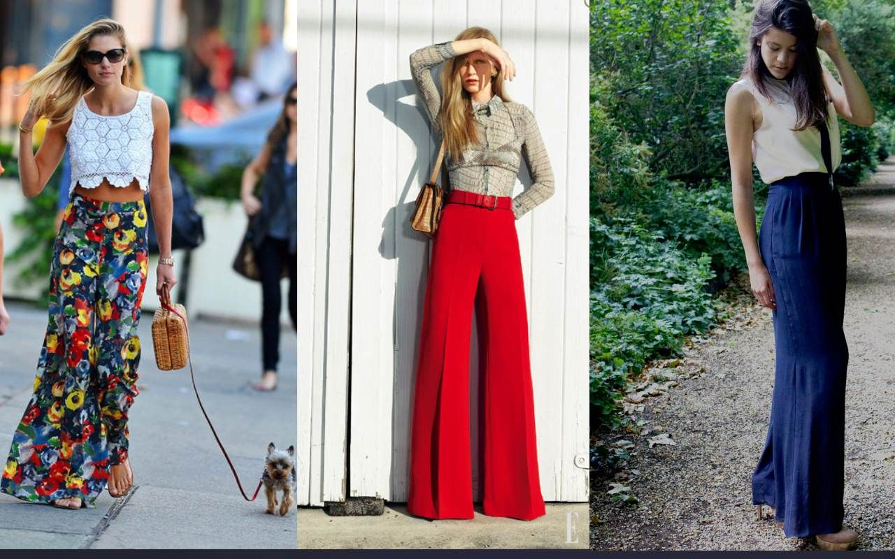 Pants Palazzo fashion trend! forecast dress for autumn in 2019