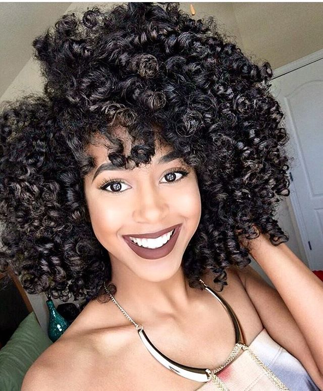 Beautiful braid and curl➰ GORG @markele.dejanae ❤️ #naturalhair #bighair #curlyhair #voiceofhair ========================== Go to VoiceOfHair.com ========================= Find hairstyles and hair tips! =========================