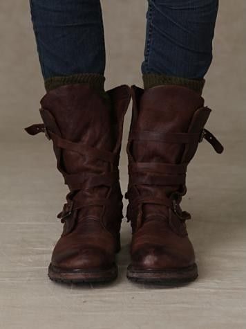 Free People Rayna Wrap Boots