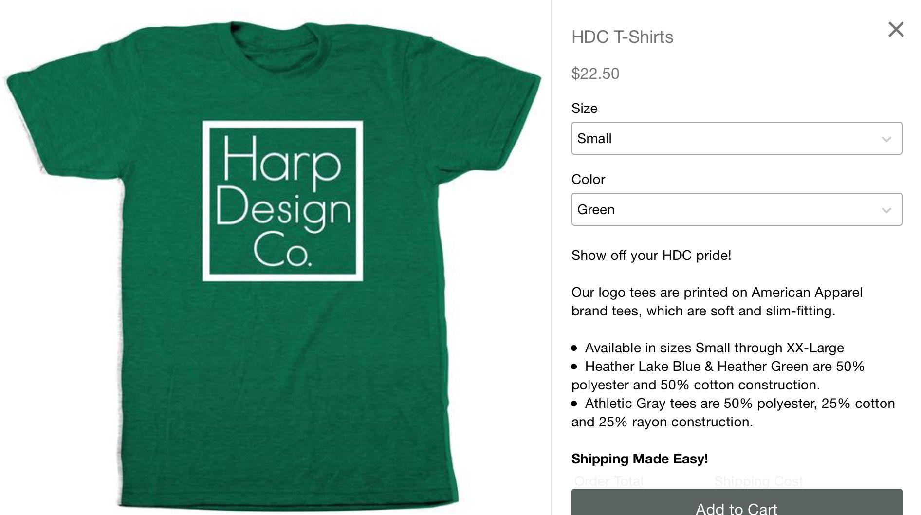 Hdc T Shirts Hgtv Clint Harp Harp Design Co On Fixer Upper