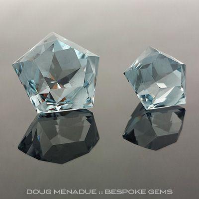Bespoke Gems - Fine Handcut Designer Gemstones - Precious and Semi Precious Gemstones - Blue Topaz - Sold