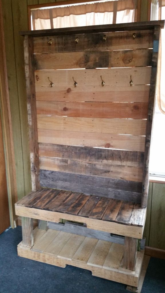 hall tree wooden pallet projects diy furniture wood on inventive ideas to utilize reclaimed wood pallet projects all you must to know id=82933