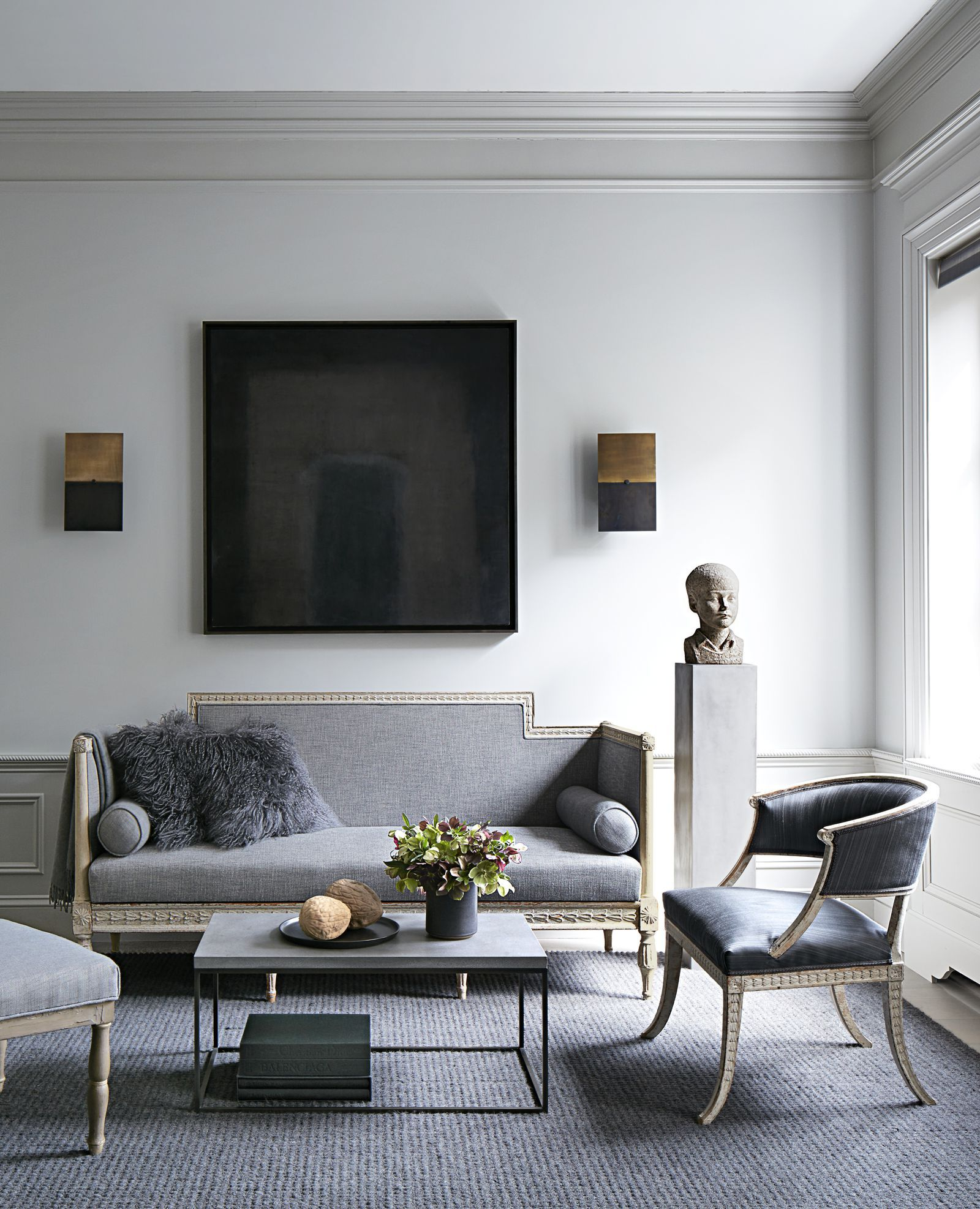 How A Minimalist West Village Townhouse Is Given A Sensuous New Life