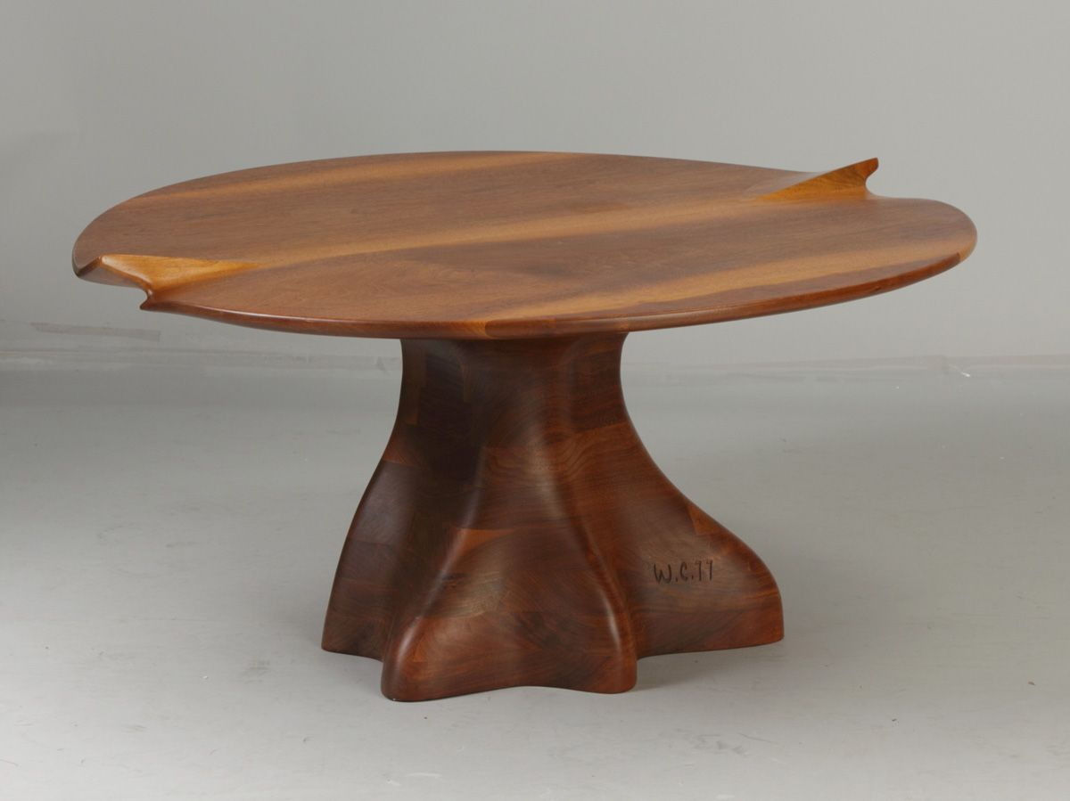 Wendell Castle (Rochester, NY, B. 1932) Coffee Table (With ...