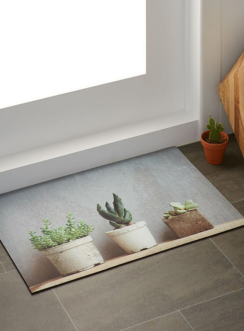 Salle De Bain Exterieur ~ le tapis pots de succulents 45×70 cm pots de ciment simons maison