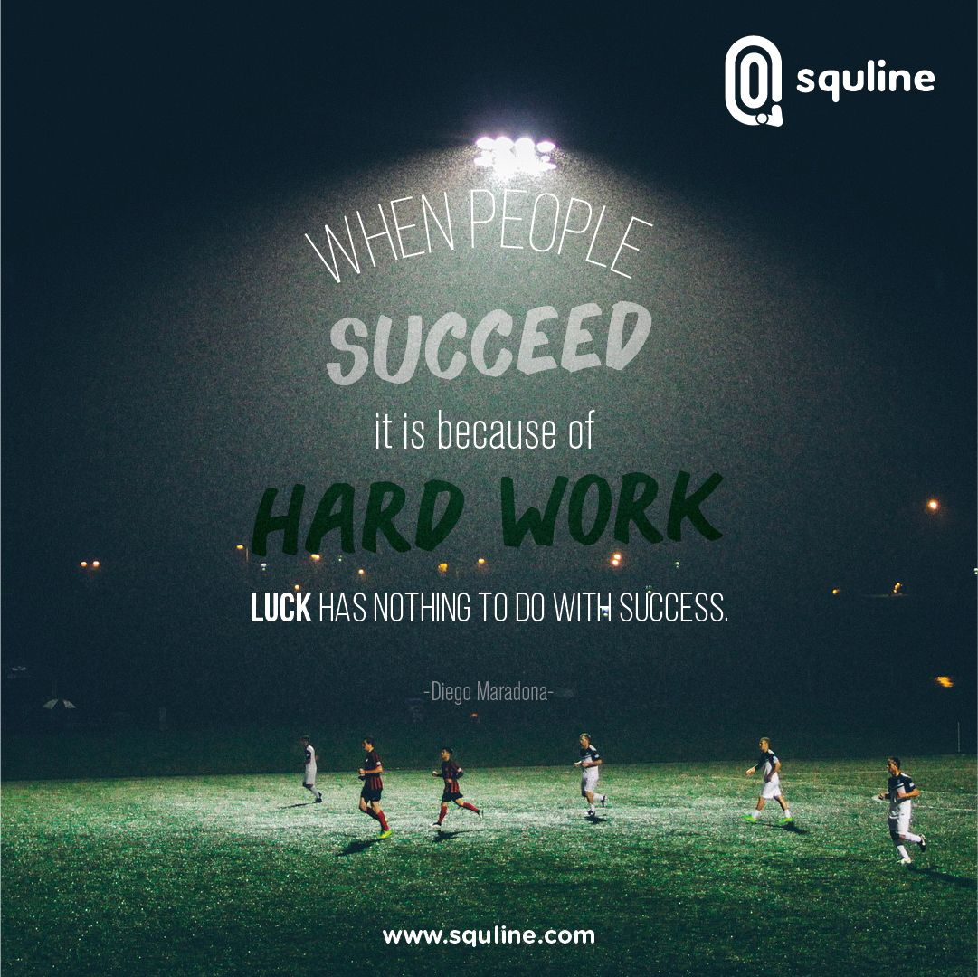 when people succeed it is because of hard work luck has nothing to do with success This topic is always hot: when people succeed, it is because of hard work luck has nothing to do with success do you agree or disagree with the quotation.