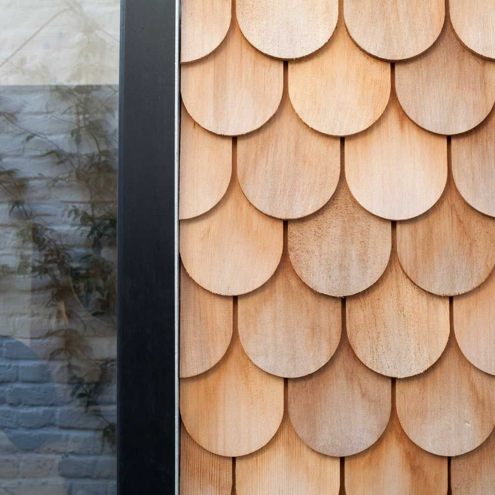 So Hot Right Now Scale Shingles In Architecture Design Timber Architecture Shingling Timber Cladding